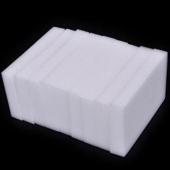 Esponja de melamina con Borrador de esponja mágica, limpiador de melamina para cocina, oficina, baño, herramientas de limpieza, 10*6*2cm, 100 unids/lote