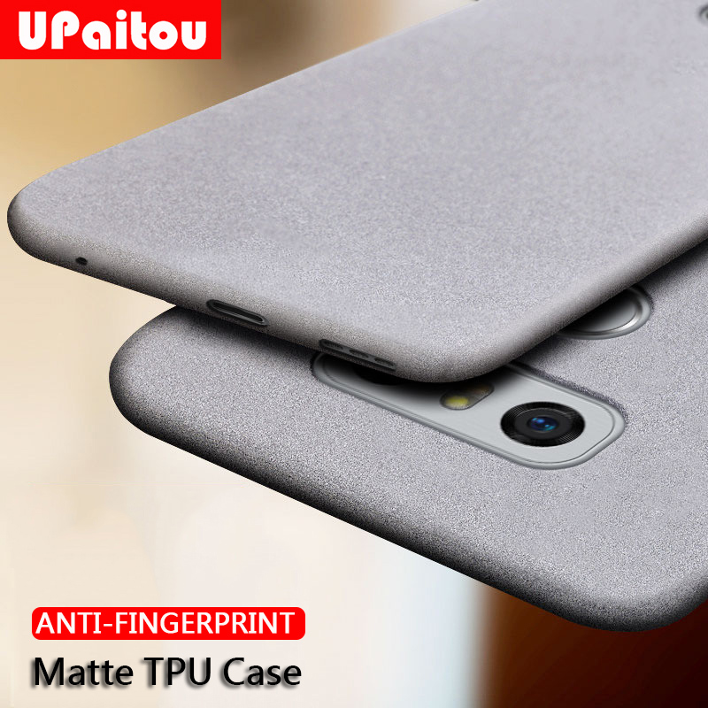 UPaitou Case for LG G7 Plus G8 V40 V30 ThinQ G6 G5 G4 Q6 Q8 Anti Fingerprint Case Soft Matte Ultra Thin TPU Cover G8 Two Camera(China)