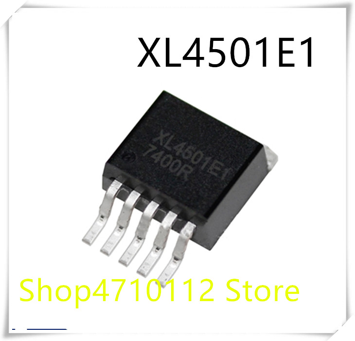 NEW 10PCS/LOT XL4501E1 XL4501 8-36V 5A TO-263-5 IC