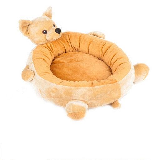 Livraison gratuite nouveau style pet chien chiot chat lit tapis chenil maison mignon chien forme