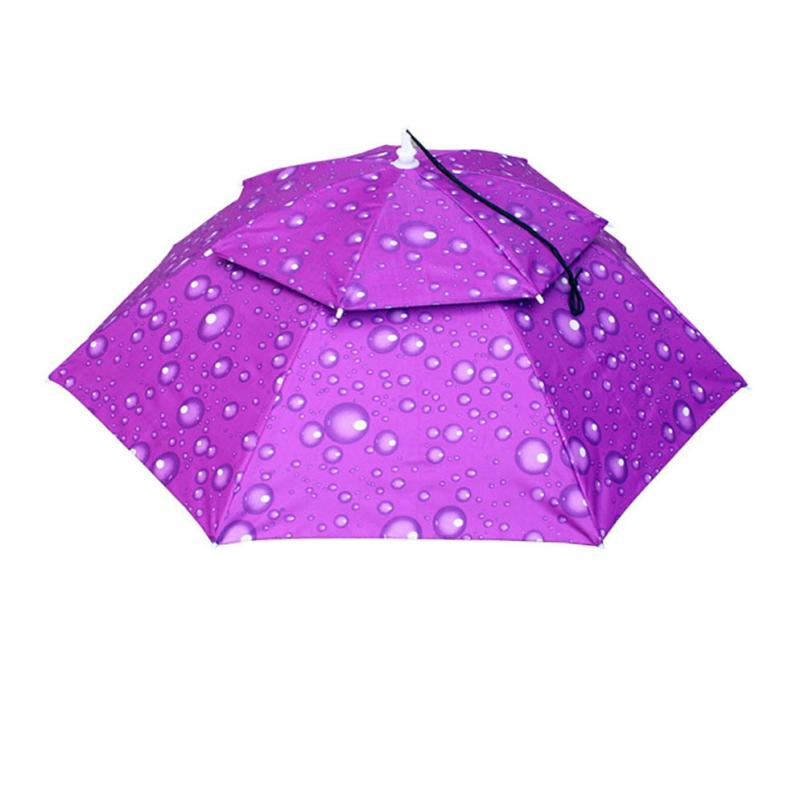 5b77afc81e8 feitong Hit Color Foldable Novelty Umbrella Sun Hat Golf Fishing Camping  Fancy Dress Multicolor High Quality-in Sun Hats from Apparel Accessories on  ...