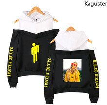 Kaguster New Listing Fashion Casual Oversized harajuku Bad guy Hoodies Women Men Pullover sweatshirt crop top Cotton long sleeve