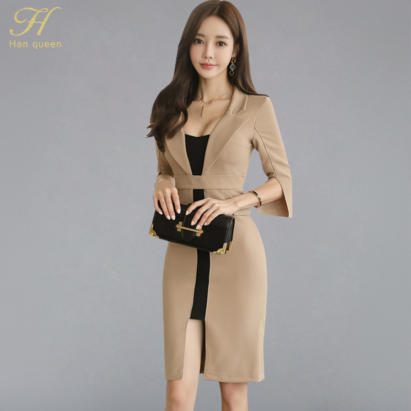 8143fa249205d ᗛ Discount for cheap winter working dress and get free shipping ...