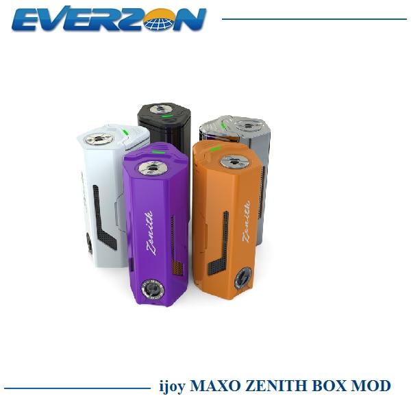 Оригинал iJoy MAXO ЗЕНИТ Окно Мод 300 Вт № 18650 Батареи для Maxo V12/Combo RDTA/Безграничны Танк распылитель Электронная Сигарета Mod