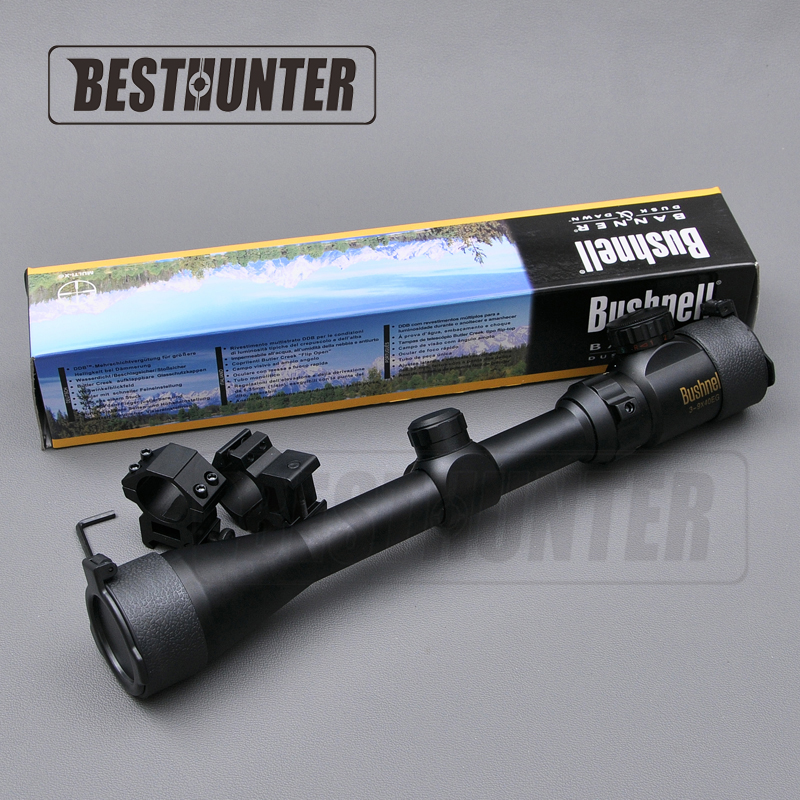 BUSHNELL Optics Hunting Scope Riflescope 3-9X40EG Red/Green Illuminated Military Optic Sight Sniper Deer Riflescope HD Scope бинокль bushnell киев