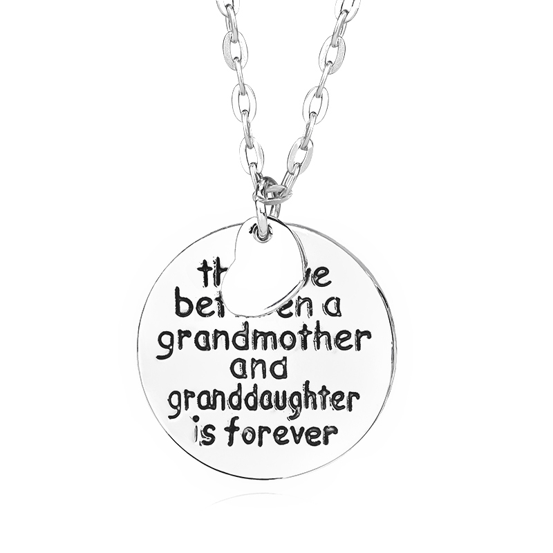 Grandma and Granddaughter Necklace