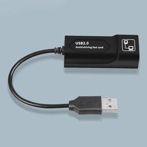 Image 2 - GOOJODOQ USB Ethernet adaptörü USB 2.0 ağ kartı RJ45 Lan Win7/Win8/Win10 dizüstü Ethernet USB