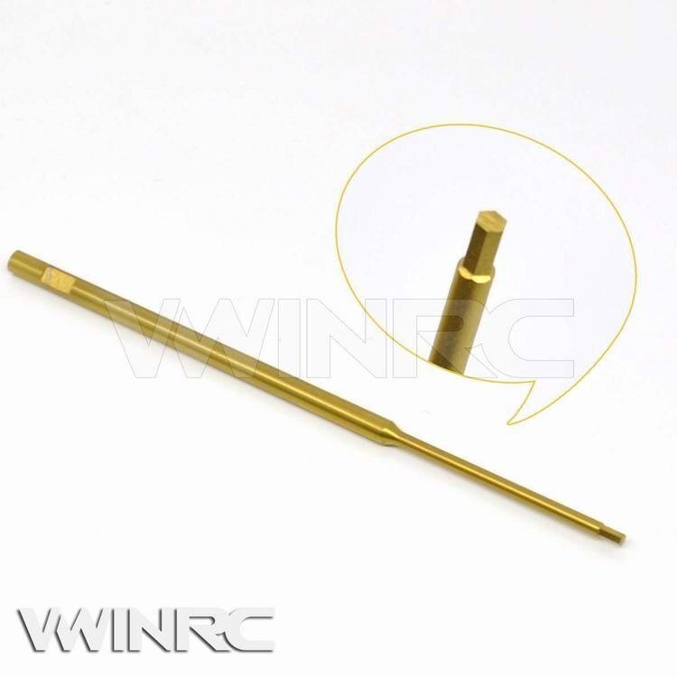 3 предмета, Бесплатная доставка инструмент Титан покрытие стали 3.0 мм с шестигранной контактный отвертка для обслуживания Хели игрушек th30x3