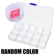 10/15/24 Plastic Storage Assortment Box Compartment Jewelry Adjustable Organizer Case Container For Store Small Things
