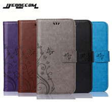 Luxury Retro Flip Case For Coque Sony Z1 Z2 Z3 Z5 X Compact Leather + Silicon Wallet Cover For Sony Xperia Z1 Compact Case(China)