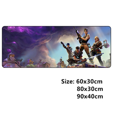 Clanic 600x300 900x400 grote gaming mousepad L XL XXL gamer muismat voor game muis pads pc accessoires Over lock
