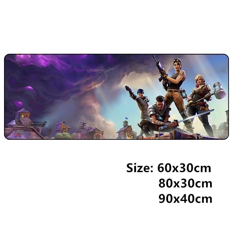 Clanic 600x300 grande de 900x400 de mousepad, L, XL, XXL, gamer ratón pad para juego de ratón accesorios para pc de bloqueo