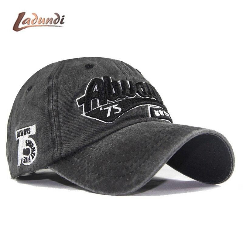 Sempre Lavado Boné de Beisebol Chapéus para Os Homens Das Mulheres Masculino Osso Estéreo bordado Chapéu Cap Hip Hop Unisex boné de Beisebol Casquette
