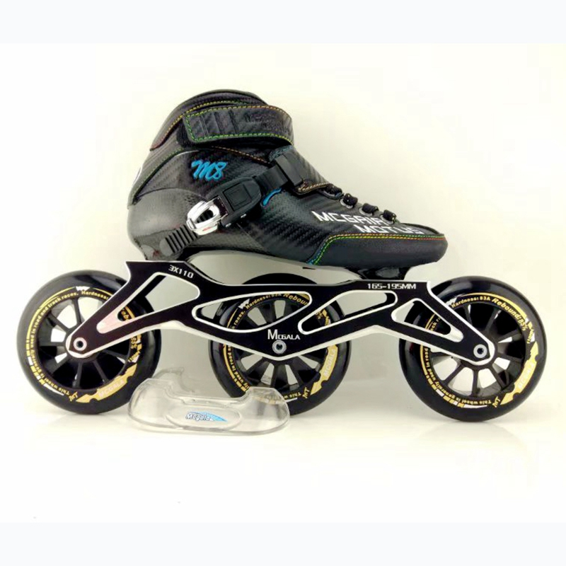 Free Shipping Speed Skates M8 3*110 Mm