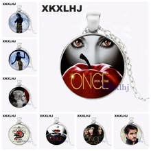 где купить XKXLHJ New Once upon a Time Necklace Once upon a Time Jewelry Glass Cabochon Necklace Pendant по лучшей цене