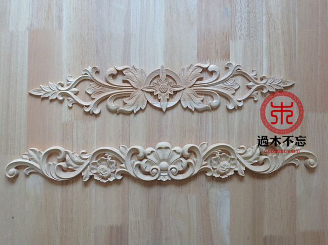 Don t forget dongyang wood carving wooden rose floral applique
