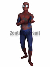 3D Printing The Amazing Spider-man2 Zentai Halloween Party Spiderman Costume