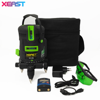 XEAST XE 08L LD Laser Module 5 Lines 6 Points Green Laser Level 4V 1H 360