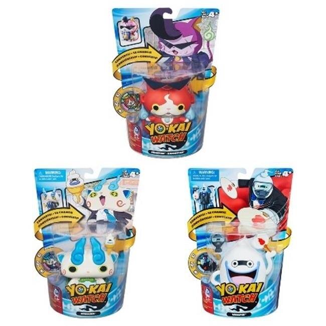 Hasbro HSBB5946 Yokai Converting Characters Assorted Pack of 4 парафин oneball x wax 5 pack assorted