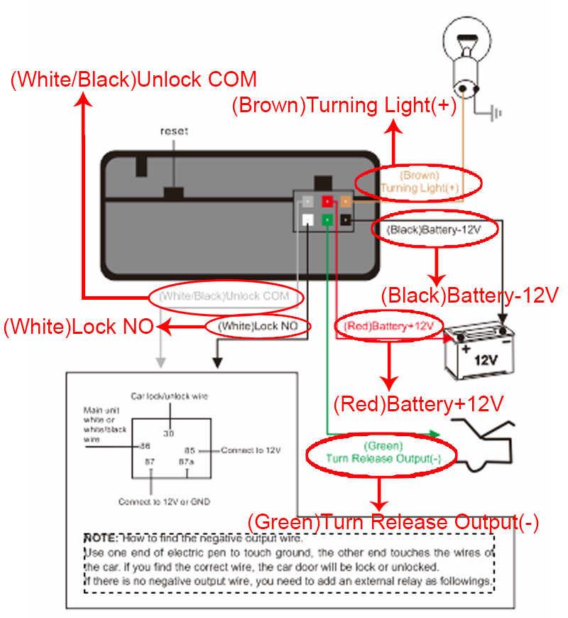 Abertura Tronco Automático Chave inteligente Sistema De Segurança Alarme de Carro Impulso Passivo de Controle de Travamento Central/Destrancar a Porta Keyless Entry MP686