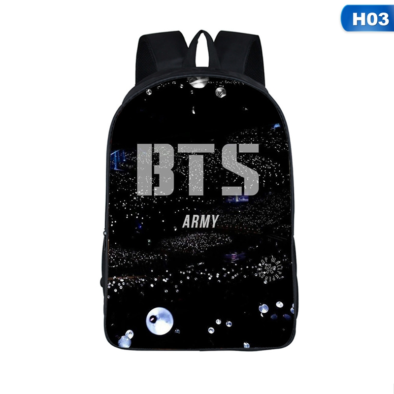 New Arrival Bts Boys Student Backpacks Female Printing Children School Bags For Boys Kids Men Book Bag Drop Shipping #2