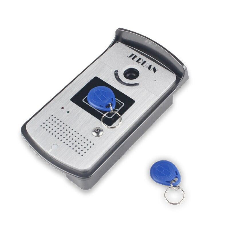 JERUAN Главная 7 ЖК-монитор Громкая домофон Цветной Видео Домофонные дверной звонок Система Контроля доступа домофон бесплатная доставка
