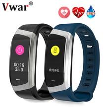 Vwar Smart Band E18 ip67 Водонепроницаемый крови Давление кислорода браслет монитор сердечного ритма Watch Sport браслет Talk Band VS мой группа