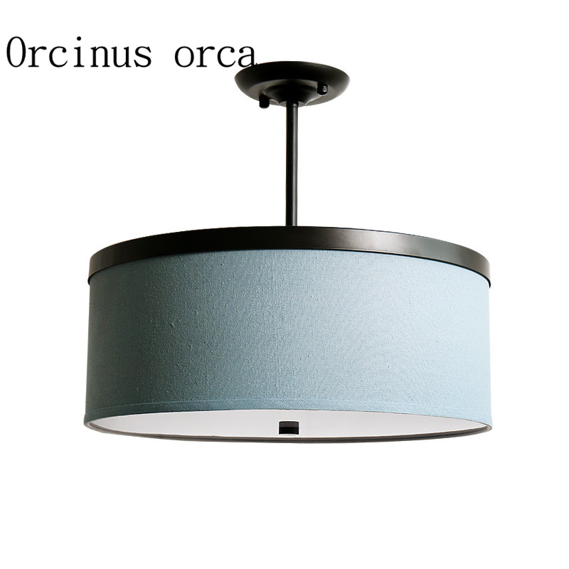 American country modern minimalist chandelier living room bedroom dining room LED round study ceiling lamp ceiling lighting minimalist modern balcony study bedroom lighting led intelligent atmospheric living room dining room