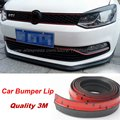 Auto Car Front Lip Deflector Lips Skirt For Volkswagen VW Caddy 2K / Body Chassis Side Protection / Spoiler Lip For Car Surround