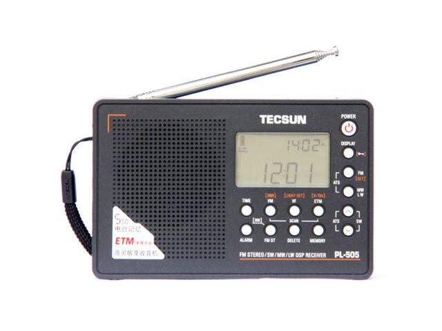 Горячая продажа! TECSUN PL-505 Цифровой PLL Портативный Радиоприемник FM Стерео/LW/SW/MW DSP Приемник