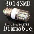 Preço barato de alta qualidade E27 7 W 3014SMD 48 leds 85 - 265 V / ac, De poupança de energia conduziu a iluminação, Regulável