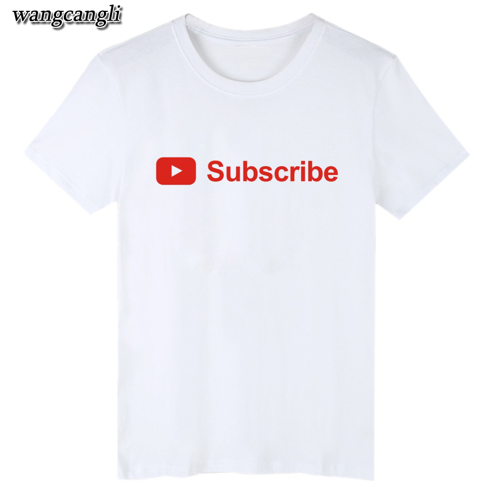 17 best friends t shirt harajuku Youtube Logo Printed tshirts cotton women with 4XL You Tube T-shirts for women Tee Shirt 9