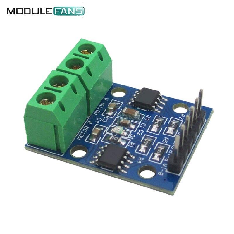 2pcs h bridge stepper motor dual dc motor driver for Stepper motor integrated controller
