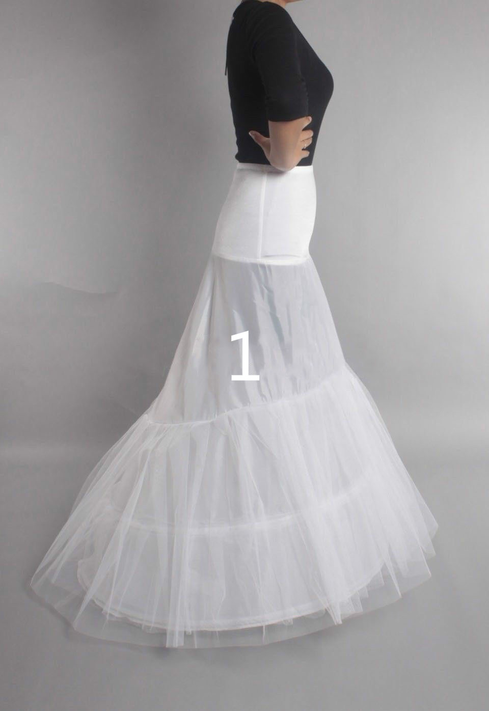 Hot Sell Many Styles Bridal Wedding Petticoat Hoop Crinoline Prom Underskirt Fancy Skirt Slip