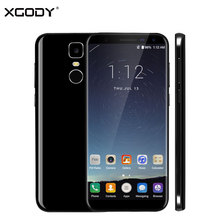 XGODY D24 Pro 4G LTE 5,5 Zoll 18:9 Verhältnis Smartphone Android 7,0 Nougat MTK6737 Quad Core 2G + 16G Touch Mobile Handy OTG 13MP