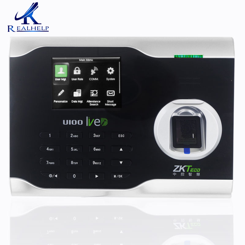 Working Time Attendance Linux System Free ZKTeco U100 Software FingerPrint Attendance System