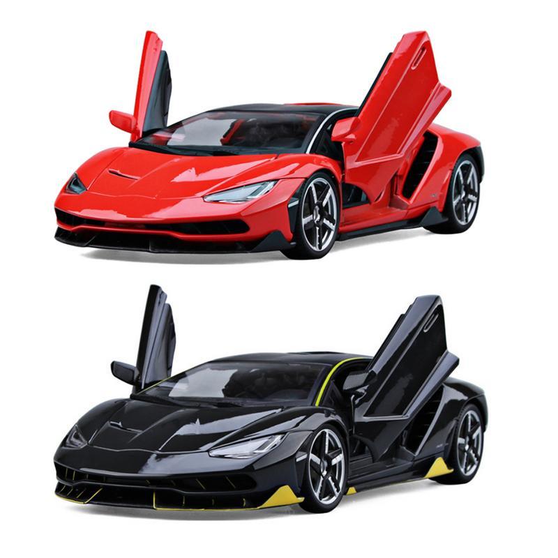 Cool Lamborghini LP770-4 voiture de sport modèle 1:18 simulé alliage voiture jouet décoration de la maison