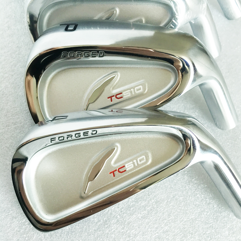 New mens Golf head FOURTEEN TC510 FORGED Golf irons heads set 4-9.P Irons clubs head no Golf shaft  Free shipping new golf head romaro alcobaca tour stream forged carbon steel golf wedge head have 50 56 58 deg loft no golf shaft free shipping
