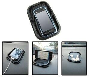 Image 5 - Universele Auto Dashboard Anti Slip Pad Telefoon Gps Holder Anti Slip Multifunctie Siliconen Mat Auto Accessoires