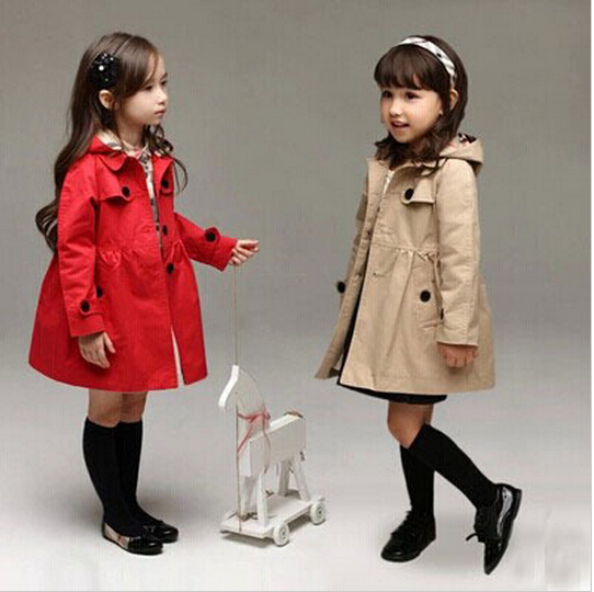 Kids Girl Clothes Children Coat 2015 Autumn Spring Outwear Kids Jackets Winter Jacket children's Clothing Girls teenager girl dot trench coat outwear kids hooded clothes spring and autumn jacket children s clothing 15380421