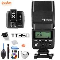 Godox TT350 GN36 2,4 г ttl HSS мини Вспышка Speedlite + X1T X Системы триггер передатчик для Canon Nikon sony фужи Олимпус Камера