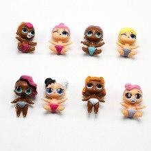 1Pc Random Dress Change LOL bebek Dolls Unpacking LOL Doll Ball Action Figures Toy Kids Dolls Girls Funny Xmas Gifts