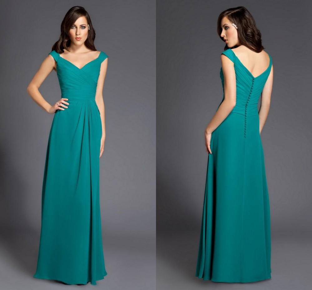 Cheap 2015 chiffon hunter mint green bridesmaid dresses floor cheap 2015 chiffon hunter mint green bridesmaid dresses floor length long plus size for wedding turquoise party dress vestidos in bridesmaid dresses from ombrellifo Gallery