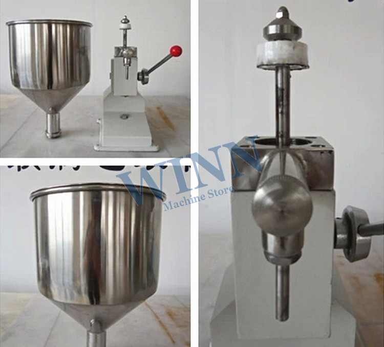 A03 Manual Filling Machine For Liquid Material Hand Power Multipurpose Quantitative Filling Machine Hand Pressure Filler Packer