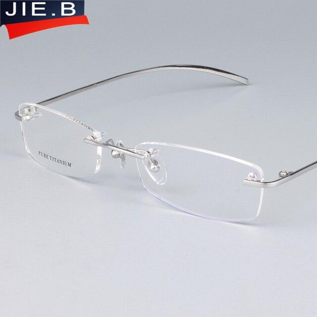 33a5d0a9df Nuevos marcos de gafas plegables con tornillo de titanio puro para hombres  y mujeres, monturas