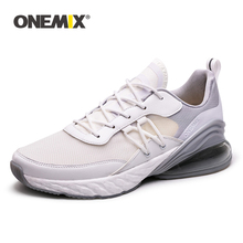Купить с кэшбэком Onemix Men's shoes woman sneakers outdoors confortable leather abrasion resistance skidproof free shipping