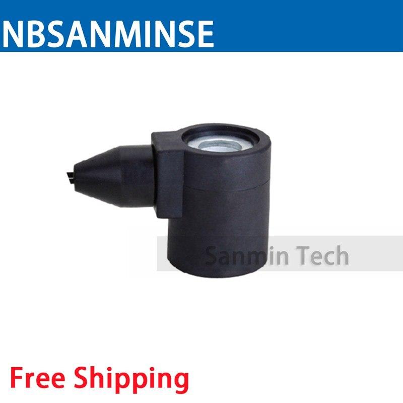 XZ Automobile Valve Series Coil Electrical Solenoid Valve Coil DC24V Voltage Lead - Type Valve Coil Sanmin