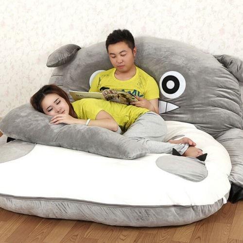 200cm x 170cm / 6.5ft x 5.5ft Giant Totoro posteljica Lepa vzmetnica - Pohištvo - Fotografija 4