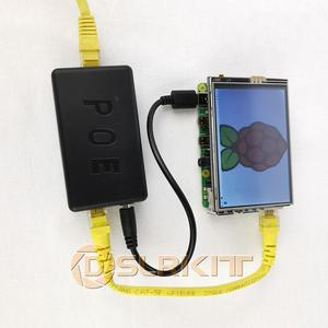 Image 4 - DSLRKIT 5V 3A 4A 20Watt Gigabit Raspberry Pi 4 4B Active PoE Splitter USB TYPE C Ethernet