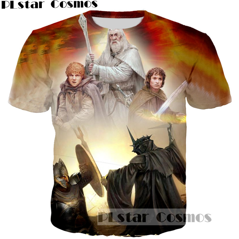 PLstar Cosmos Legolas Greenleaf Printed Vintage Mans T-Shirt 3D print The Lord of the Rings tee tshirt Men Hipster t shirt tops